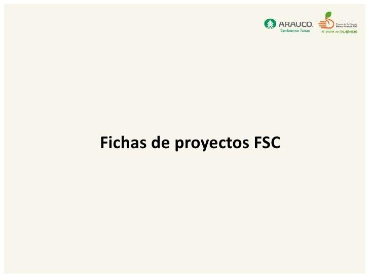 Fichas proyectos fsc para software v2