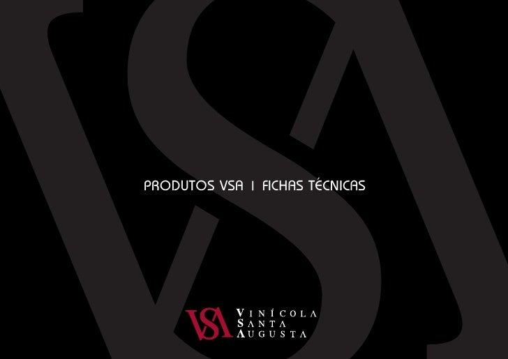 PRODUTOS VSA   FICHAS TÉCNICAS