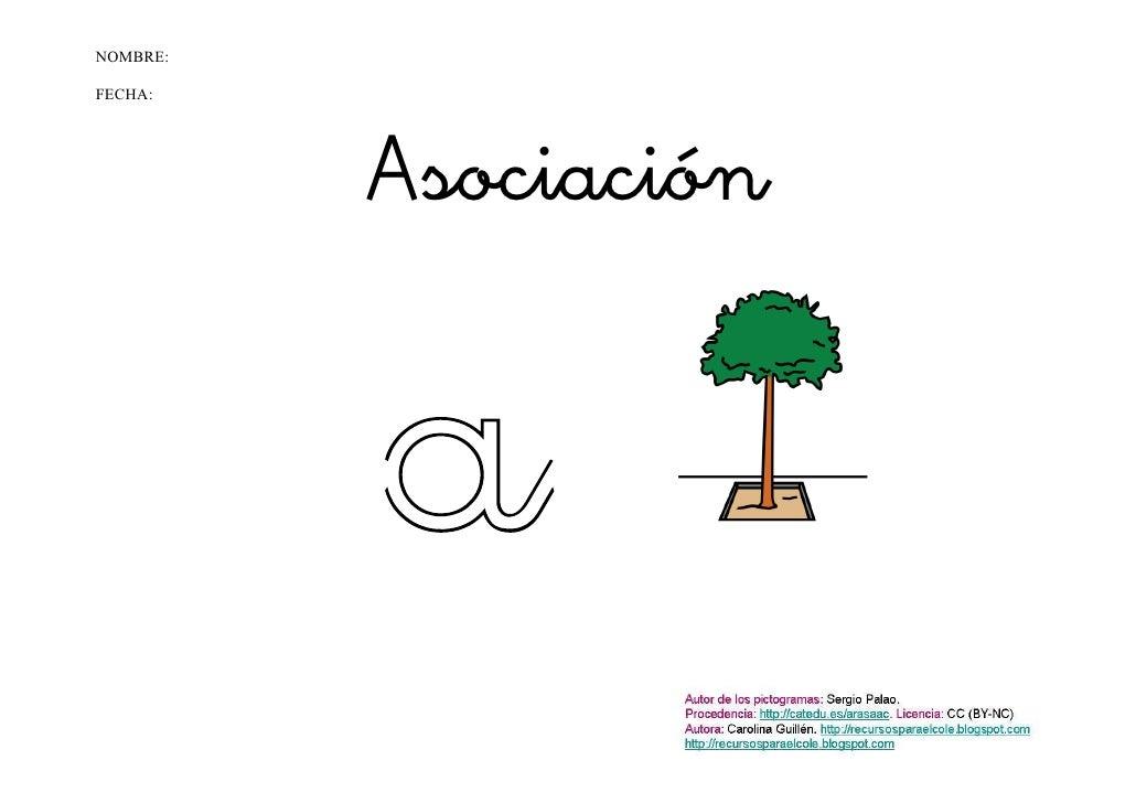 NOMBRE:FECHA:          Asociación