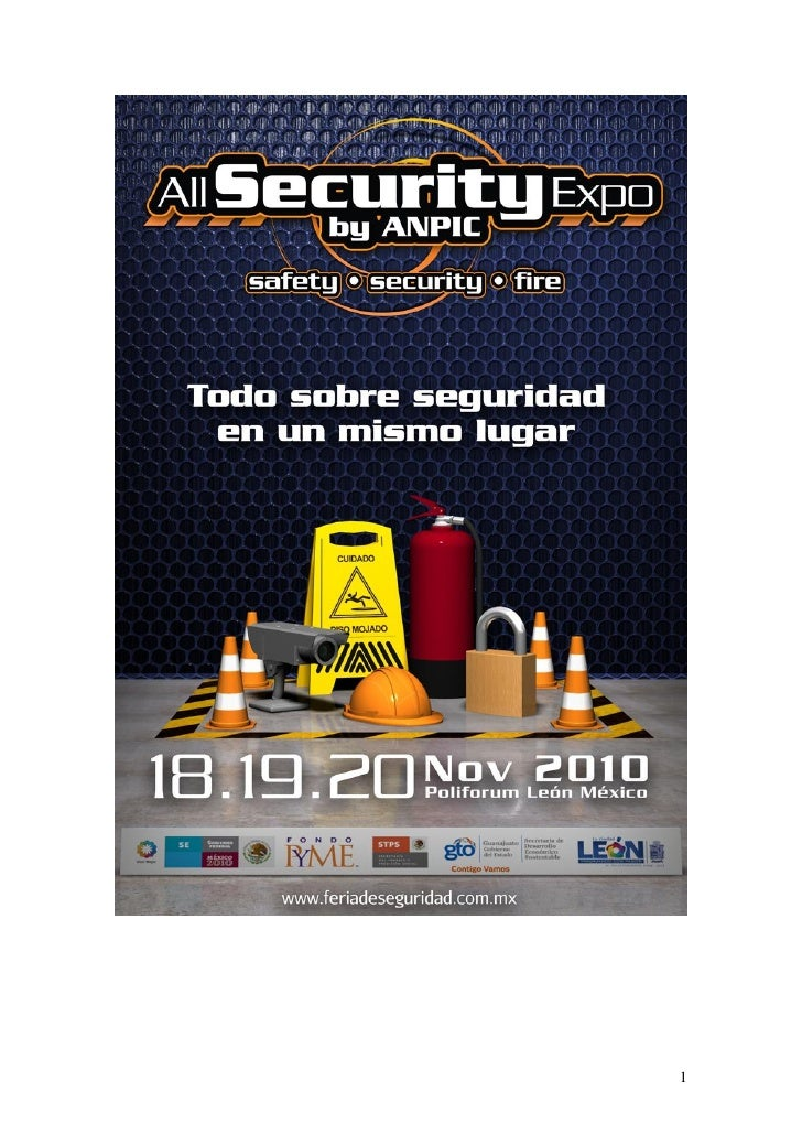 Ficha técnica  ALL SECURITY EXPO