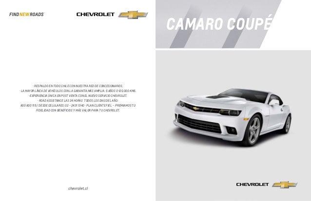 Ficha Técnica Chevrolet Camaro Coupé