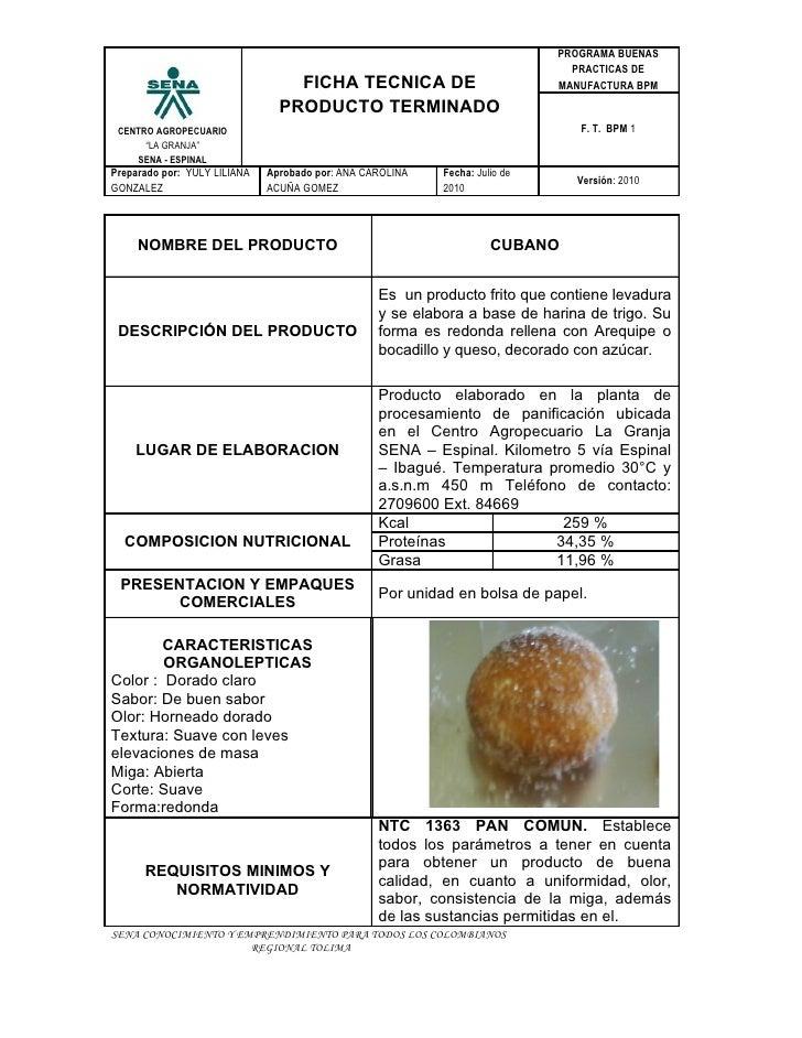 Ficha tecnica cubanos