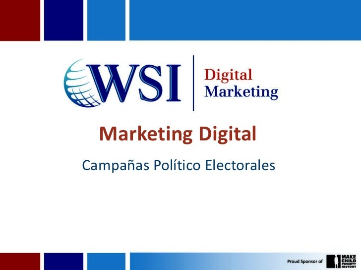 Marketing Digital  Campañas Político Electorales