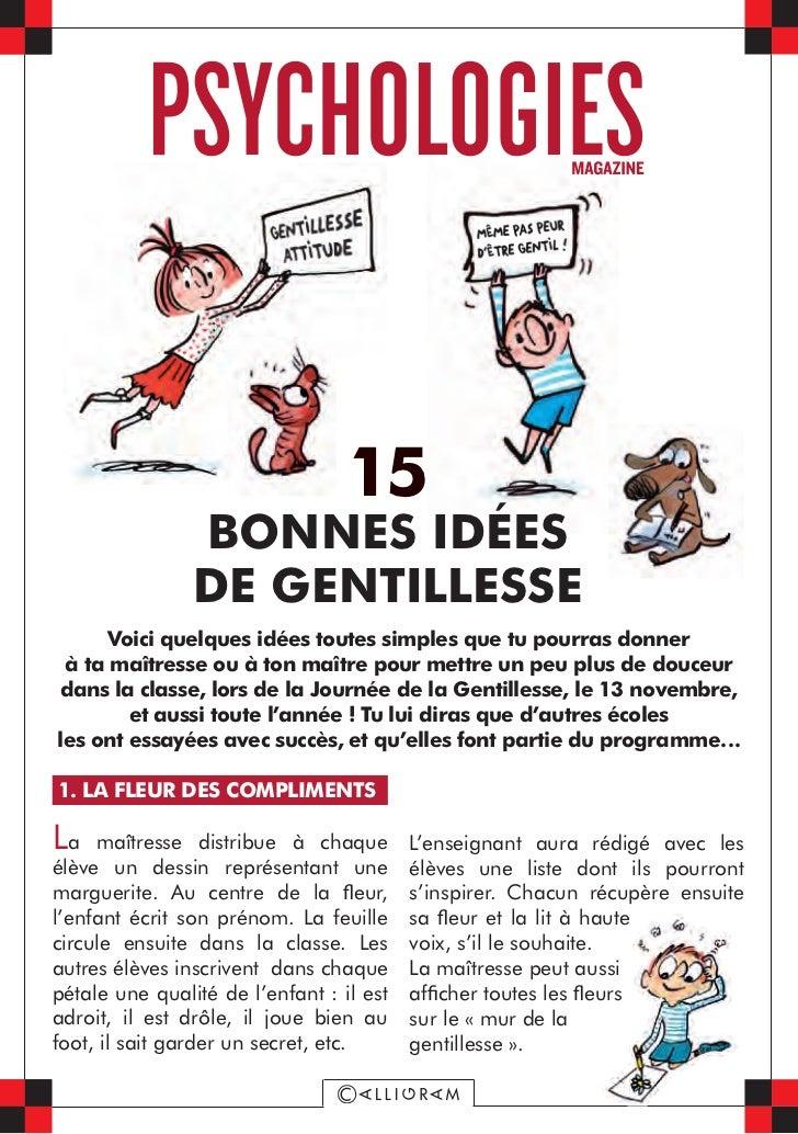 Le kit Max et Lili de la gentillesse - Psychologies.com