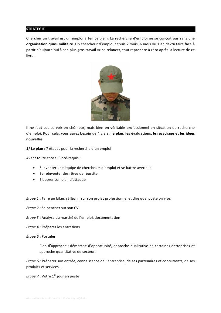exemple cv militaire gratuit