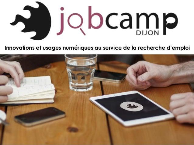 Innovations et usages numériques au service de la recherche d'emploi