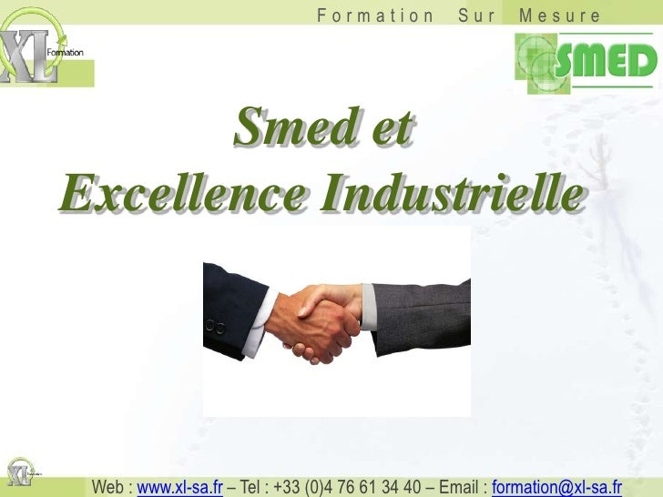 Smed et <br />Excellence Industrielle<br />