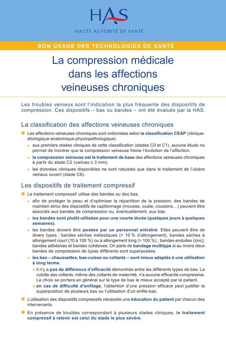 Fiche de bon_usage_-_compression_medicale_dans_les_affections_veineuses_chroniques