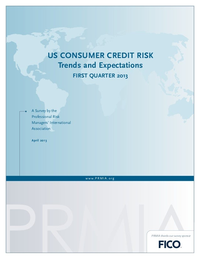 US Consumer Credit Risk Trends and Expectations, Q1 2013