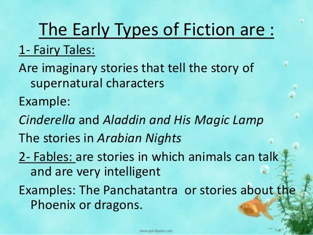 What are fiction novels