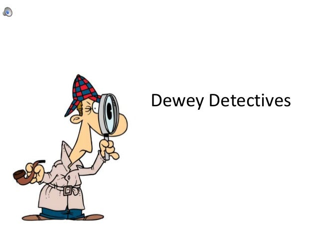 Fiction call numbers dewey detectives