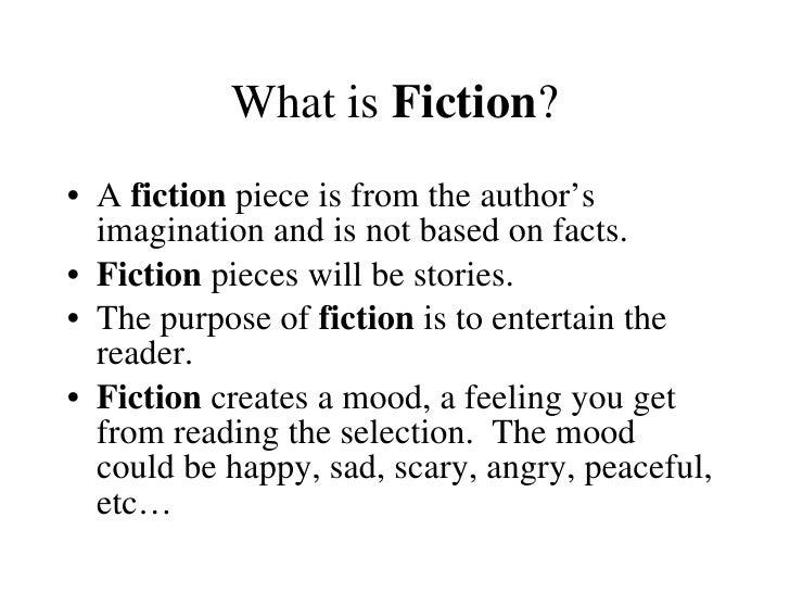 A fiction