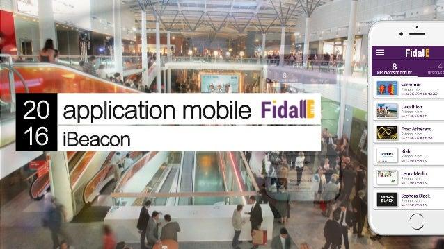 application mobile iBeacon 20 16