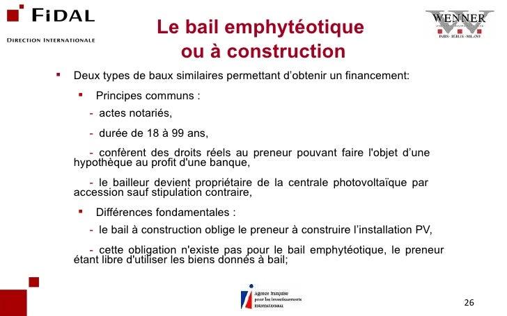 Modele contrat de bail a construction document online - Loi pour les proprietaires ...