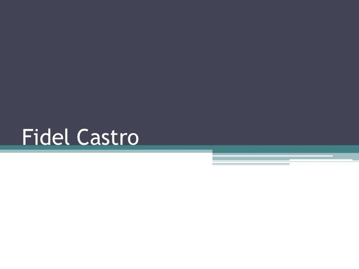 Fidel Castro<br />