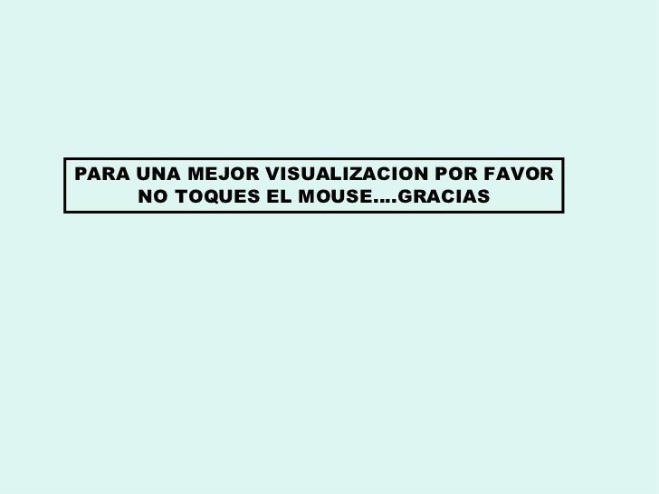 PARA UNA MEJOR VISUALIZACION POR FAVOR NO TOQUES EL MOUSE….GRACIAS