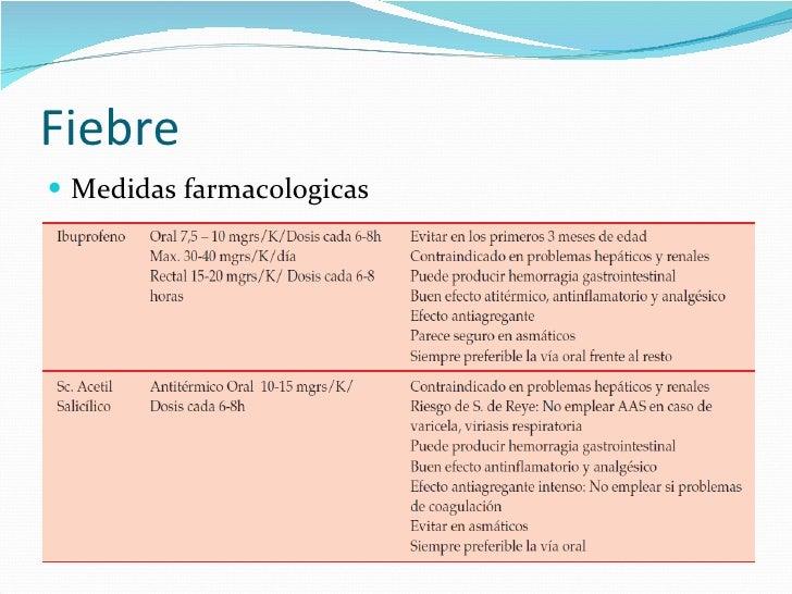 Baño En Ninos Con Fiebre:ul fiebre 12 ul li medidas farmacologicas li ul fiebre