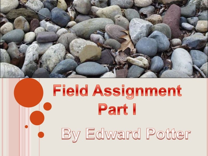 Field Assignment<br />Part I<br />By Edward Potter<br />