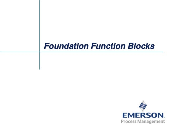 Fieldbus Tutorial Part 8 - Fieldbus Function Blocks