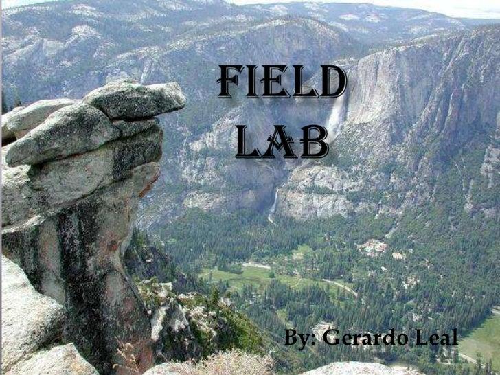 Field Lab<br />By: Gerardo Leal<br />