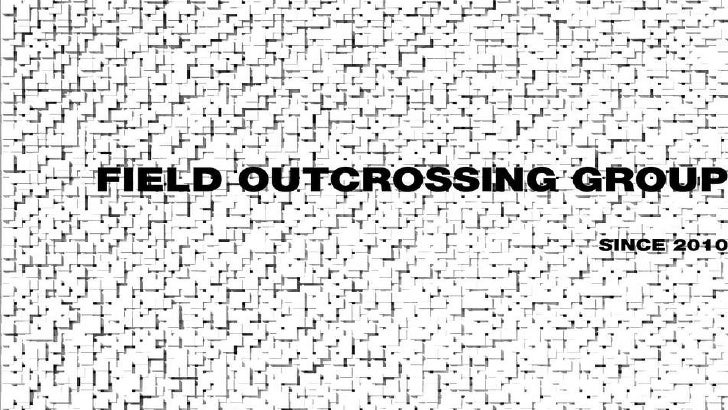 Field outcrossing group choi js(최재석)