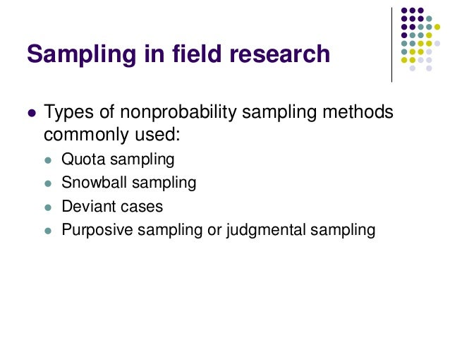 different types of sampling method education essay • apply various types of sampling methods to data collection  does your dot plot look the same as or different from the example  sampling method essay.