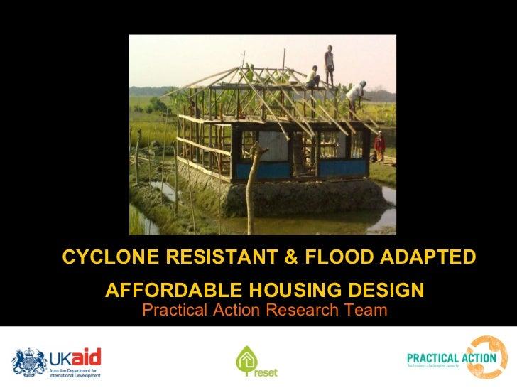 Field research housing design analysis
