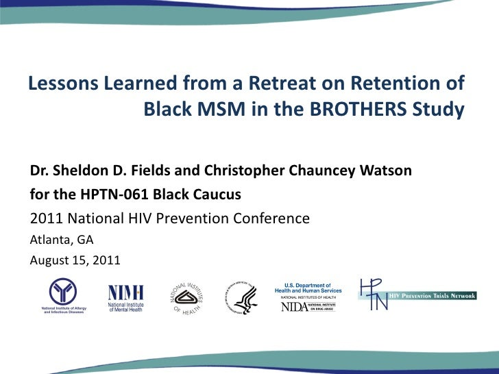 Lessons Learned from a Retreat on Retention of Black MSM in the BROTHERS Study
