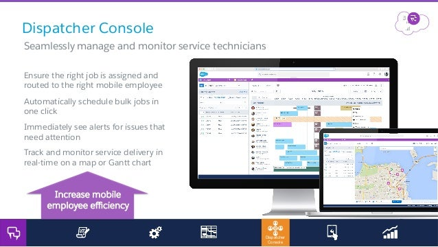 Field service lightning product launch for partners march for Consol service