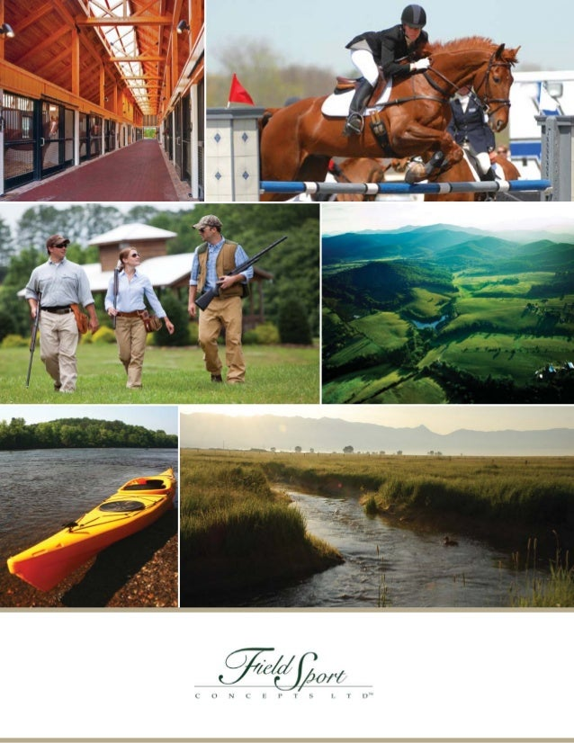 INNOVATIVE SOLUTIONS FOR              CONSERVATION AND THE SPORTING LIFE   Founded in 1993, Field Sport Concepts, Ltd. (ww...
