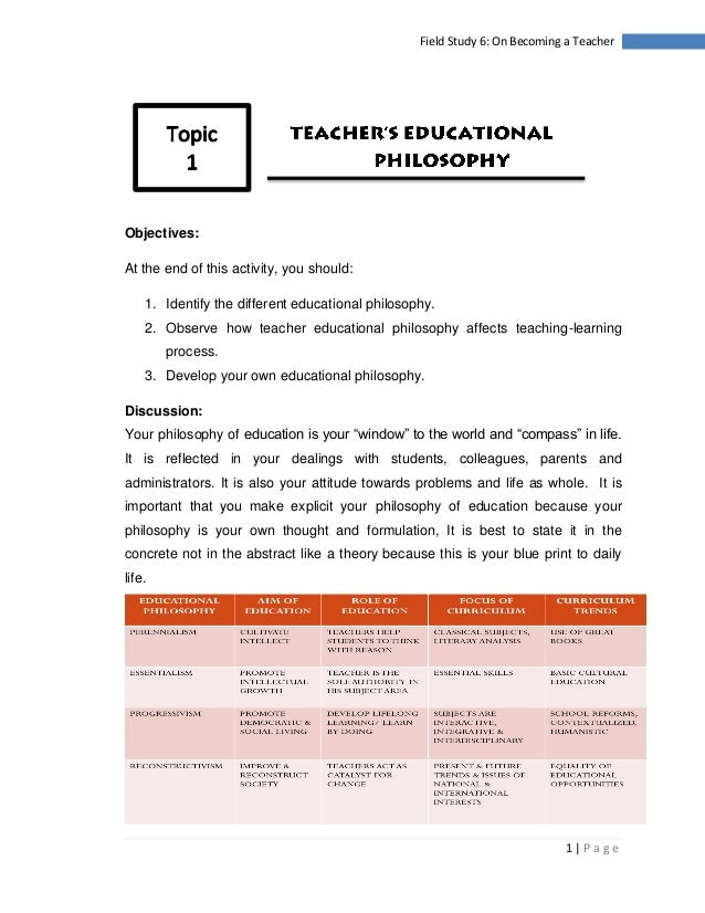 essay on becoming a teacher