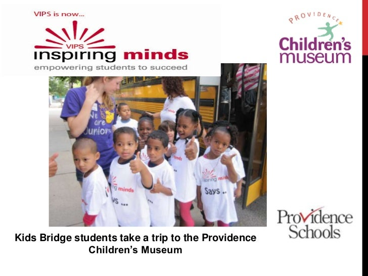 Kids Bridge students take a trip to the Providence Children's Museum<br />