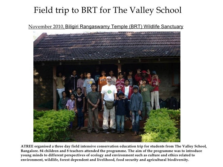 Field trip to brt for the valley school