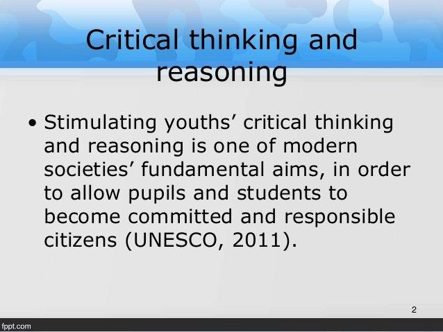 Critical thinking and reasoning skills