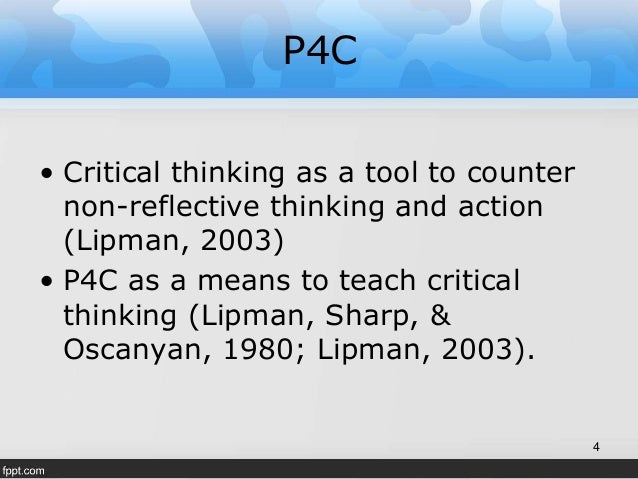 Reasoning in critical thinking