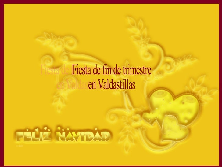 Fiesta de fin de trimestre en Valdastillas