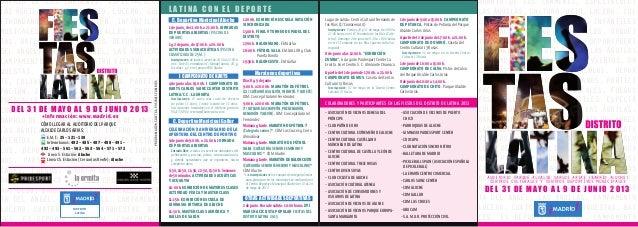 Fiestas Distrito Latina