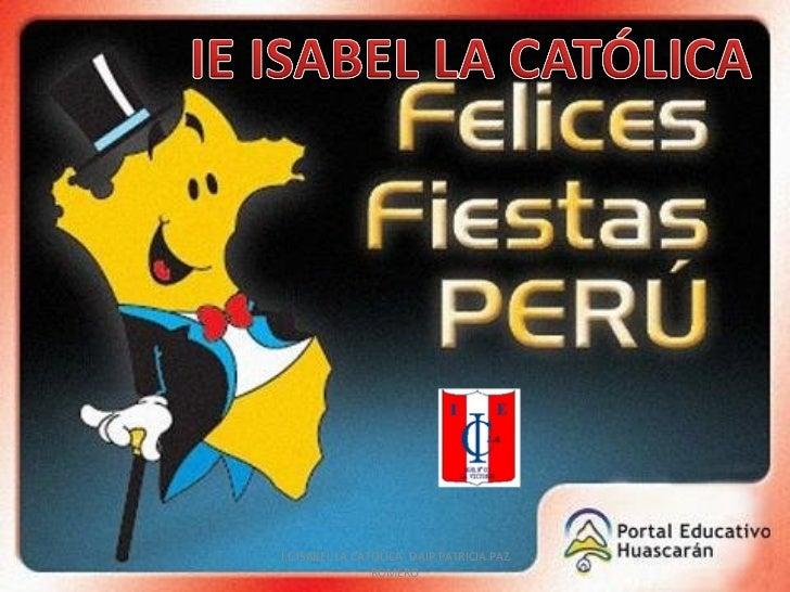 Fiestas Patrias Perú