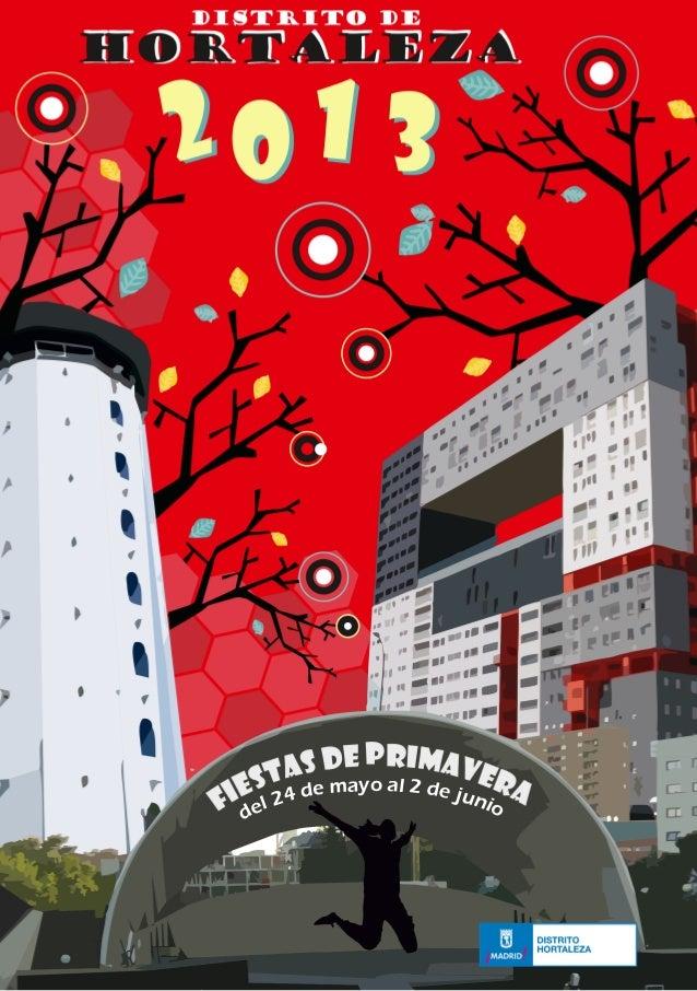 Fiestas primavera 2013, Distrito Hortaleza