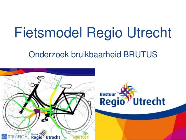 Pilot Fietsmodel Regio Utrecht