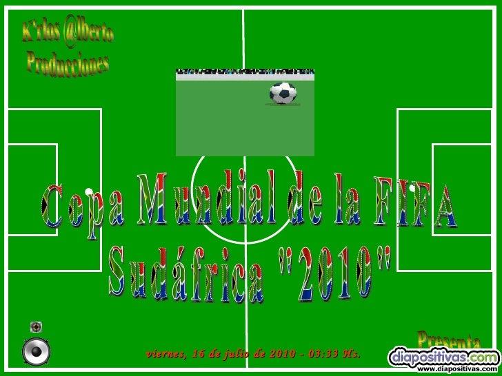 Fifa 2010-diapositivas
