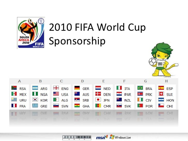 2010 FIFA World Cup Sponsorship<br />