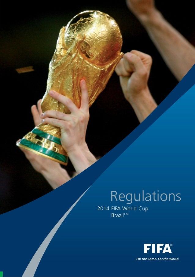 Regulations 2014 FIFA World Cup BrazilTM