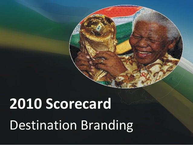 FIFA World Cup Scorecard 2010
