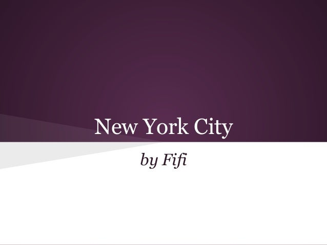 New York City    by Fifi
