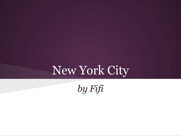 Fifi nyc