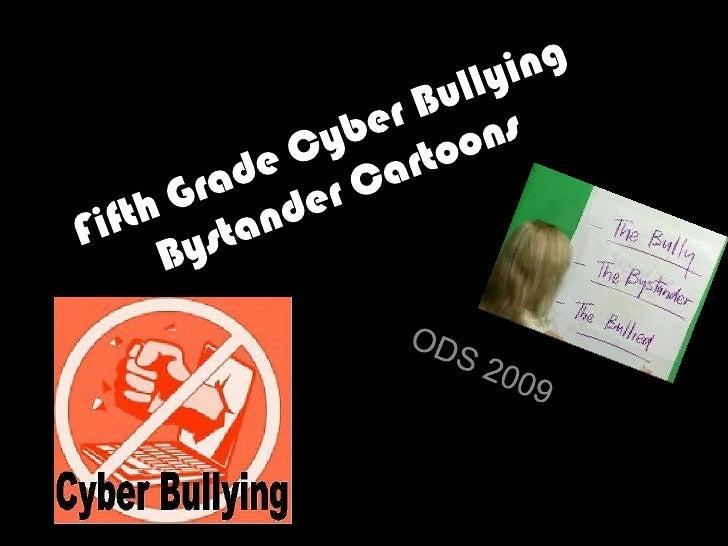 Fifth Grade Cyber Bullying Bystander Cartoons