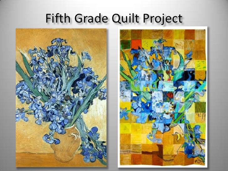 Fifth Grade Quilt Project<br />