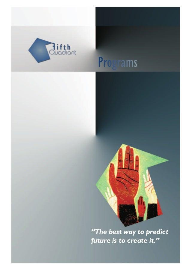 Fifth Quadrant Catalog of Programs