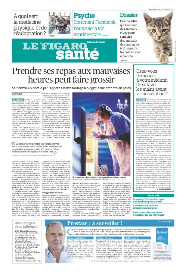 LE FIGARO       lundi 19 novembre 2012                                                                                    ...